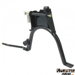BEQUILLE SCOOT CENTRALE ADAPTABLE MBK 50 STUNT-YAMAHA 50 SLIDER NOIR  -BUZZETTI-