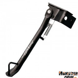 BEQUILLE SCOOT LATERALE ADAPTABLE MBK 50 BOOSTER NG, ROCKET 1999>-YAMAHA 50 BWS BUMP, SPY 1999> NOIR  -BUZZETTI-
