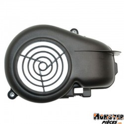 VOLUTE-CACHE TURBINE SCOOT ADAPTABLE MBK 50 OVETTO, MACH G-YAMAHA 50 NEOS, JOG-APRILIA 50 SR AIR-MALAGUTI 50 F10 NOIR  -TOP PERF