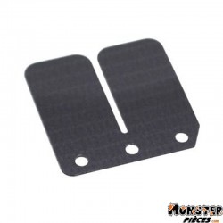 LAMELLE DE CLAPET SCOOT TOP PERF CARBONE POUR PEUGEOT 50 TKR, TREKKER, SPEEDFIGHT (0,35mm)