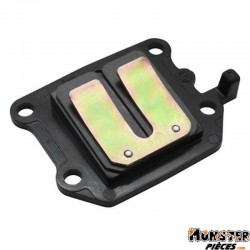 CLAPET SCOOT TOP PERF CARBONE POUR MBK 50 BOOSTER, STUNT-YAMAHA 50 BWS, SLIDER