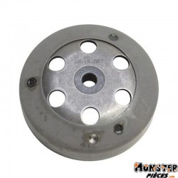 CLOCHE D'EMBRAYAGE SCOOT TOP PERF TYPE ORIGINE POUR MBK 50 BOOSTER1990>1998-YAMAHA 50 BWS 1990>1998-DIAM 105-