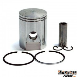 PISTON 50 A BOITE TOP PERF FONTE POUR MINARELLI 50 AM6-MBK 50 X-POWER, X-LIMIT-YAMAHA 50 TZR, DTR-PEUGEOT 50 XPS-RIEJU 50 RS1-BE