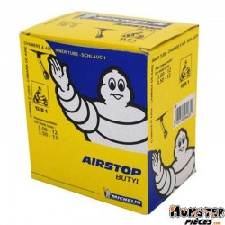 CHAMBRE A AIR 12''  3.00-12 A 3.50-12 MICHELIN 12B1 VALVE COUDEE 150�