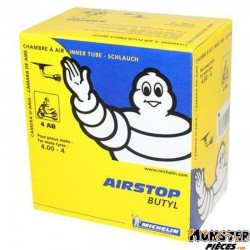 CHAMBRE A AIR  4''  4.00-4 MICHELIN 4AB VALVE COUDEE 90�