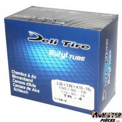 CHAMBRE A AIR 18''  3.25 A 4.10-18 , 100-90-18 , 110-80-18 DELI VALVE TR4