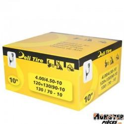 CHAMBRE A AIR 10'' 4.00  A  4.50-10 , 120-90-10 , 130-90-10 , 130-70-10 DELI VALVE COUDEE
