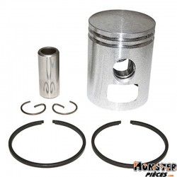 PISTON CYCLO ADAPTABLE MBK 51, 41, 88, CLUB, MAGNUM RACING, PASSION (LETTRE G - DIAM 38,97)  -SELECTION P2R-
