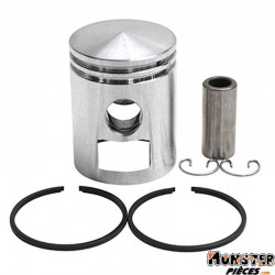 PISTON CYCLO ADAPTABLE MBK 51, 41, 88, CLUB, MAGNUM RACING, PASSION (LETTRE A - DIAM 38,94)  -SELECTION P2R-