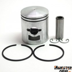 PISTON CYCLO ADAPTABLE PEUGEOT 103 MVL, SP, RCX, SPX, VOGUE (LETTRE F - DIAM 39,93)  -SELECTION P2R-