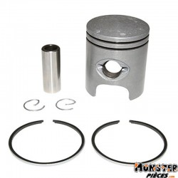 PISTON CYCLO ADAPTABLE PEUGEOT 103 MVL, SP, RCX, SPX, VOGUE (LETTRE E - DIAM 39,92)  -SELECTION P2R-
