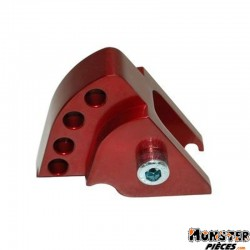 REHAUSSE AMORTISSEUR SCOOT REPLAY POUR MBK 50 BOOSTER 1999>2003-YAMAHA 50 BWS 1999>2003 ROUGE (4 POSITIONS)