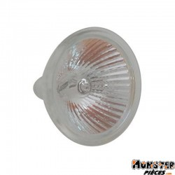AMPOULE-LAMPE 12V 20W DICHROIQUE MR-16 DIAM 50 BLANC (PROJECTEUR MR16) (VENDU A L'UNITE)  -SELECTION P2R- **