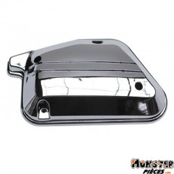 CAPOT DE FILTRE A AIR SCOOT REPLAY POUR MBK 50 BOOSTER, STUNT-YAMAHA 50 BWS, SLIDER CHROME