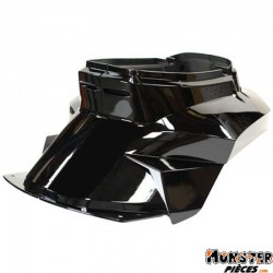 COQUE AR SCOOT REPLAY DESIGN ADAPTABLE MBK 50 BOOSTER 1999>2003-YAMAHA 50 BWS 1999>2003 NOIR