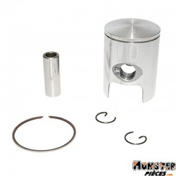 PISTON 50 A BOITE ATHENA POUR MINARELLI 50 AM6-MBK 50 X-POWER, X-LIMIT-YAMAHA 50 TZR, DTR-PEUGEOT 50 XPS-RIEJU 50 RS1-BETA 50 RR