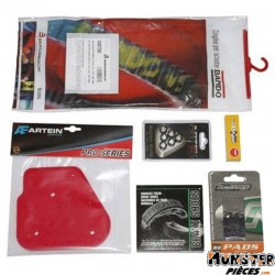 KIT ENTRETIEN SCOOT ADAPTABLE MBK 50 OVETTO 2T-YAMAHA 50 NEOS 2T  -P2R-