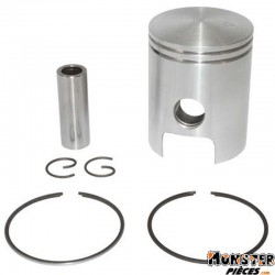 PISTON 50 A BOITE ADAPTABLE MINARELLI 50 AM6-MBK 50 X-POWER, X-LIMIT-YAMAHA 50 TZR, DTR-PEUGEOT 50 XPS-RIEJU 50 RS1-BETA 50 RR (