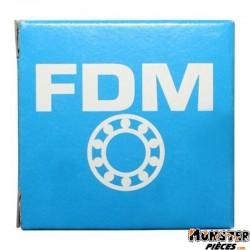ROULEMENT DE ROUE 6202-2RS (15x35x11) FDM ADAPTABLE DERBI 50 SENDA DRD AV+AR, GPR 50 AV+AR-GILERA 50 SMT AV+AR, RCR AV+AR-MBK 50