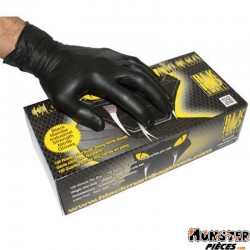 GANT ATELIER NITRILE BLACK MAMBA ANTI-DERAPANT SPECIAL ESSENCE ET HUILE  XL  (BOITE DE 100)