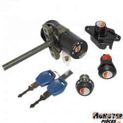 CONTACTEUR A CLE MAXISCOOTER ADAPTABLE APRILIA 125 ATLANTIC 2003>2011, 500 ATLANTIC 2004>2008 -SELECTION P2R-