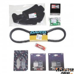 KIT ENTRETIEN MAXISCOOTER ADAPTABLE PIAGGIO 400 MP3 2007>  -RMS-