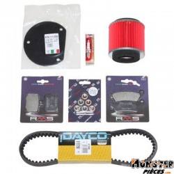 KIT ENTRETIEN MAXISCOOTER ADAPTABLE YAMAHA 125 MAJESTY 2006>2009-MBK 125 SKYLINER 2006>2009  -RMS-
