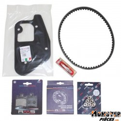 KIT ENTRETIEN SCOOT ADAPTABLE MBK 50 BOOSTER 1990>2003-YAMAHA 50 BWS 1990>2003  -RMS-