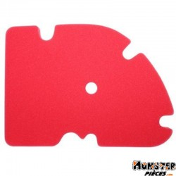 MOUSSE FILTRE A AIR MAXISCOOTER ADAPTABLE PIAGGIO 125 MP3, VESPA GTS, X8, X-EVO, 250 MP3, VESPA GTS, X8, X-EVO, 300 VESPA GTS  -