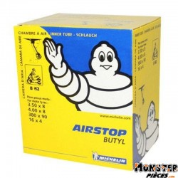 CHAMBRE A AIR  8''  3.50 A 4.00-8 MICHELIN 8B2 VALVE COUDEE 150�