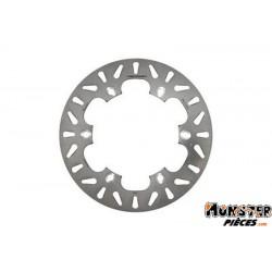 DISQUE DE FREIN MAXISCOOTER ADAPTABLE HONDA 300 SH 2007> AV+AR (EXT 256 mm, INT 144,3 mm, 6 TROUS)  -NEWFREN-