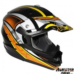 CASQUE CROSS ADX MX2 THUNDERBOLT NOIR-ORANGE L