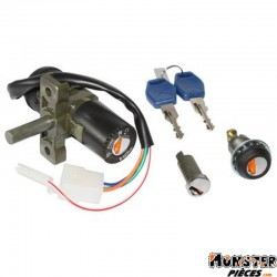 CONTACTEUR A CLE SCOOT ADAPTABLE APRILIA 50 SCARABEO 4T 2002>2010, SCARABEO 2T 2009>  -SELECTION P2R-
