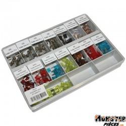 FUSIBLE PLAT ENFICHABLE + ROND PANACHE (BOITE DE 150 FUSIBLES)