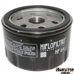 FILTRE A HUILE MAXISCOOTER HIFLOFILTRO POUR BMW 600 SPORT 2012>, 650 GT 2012>, R 1200 GS, R 1200 R, R 1200 S, R 1200 ST, R 1200