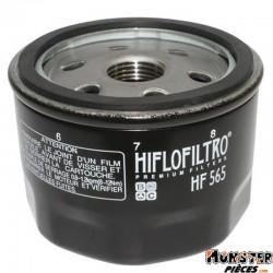 FILTRE A HUILE MAXISCOOTER HIFLOFILTRO POUR GILERA 800 GP 2008>-APRILIA 850 SRV 2012>, 750 DORSODURO, 1200 DORSODURO, 850 MANA,