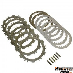 DISQUE D'EMBRAYAGE MAXISCOOTER ADAPTABLE YAMAHA 530 TMAX 2012> (KIT COMPLET)  -SELECTION P2R-
