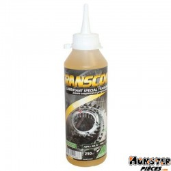 HUILE DE TRANSMISSION MINERVA TRANSCOOT  (250 ml)  (100% MADE IN FRANCE)