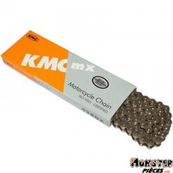 CHAINE MOTO OFF ROAD 428 KMC 428DX RENFORCE 134 MAILLONS
