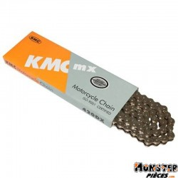 CHAINE MOTO OFF ROAD 420 KMC 420DX RENFORCE 134 MAILLONS