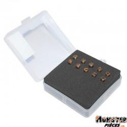 GICLEUR PRINCIPAL CARBU 2T SYM JET 5mm  (BOITE DE 10, N�70 A 92)