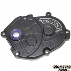 CARTER DE TRANSMISSION SCOOT POLINI EVO POUR MBK 50 BOOSTER, STUNT, NITRO-YAMAHA 50 BWS, SLIDER, AEROX NOIR (170.0301)