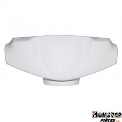 CARENAGE-COUVRE GUIDON SCOOT ADAPTABLE PEUGEOT 50 VIVACITY 1998>2007 BLANC BRILLANT  -P2R-