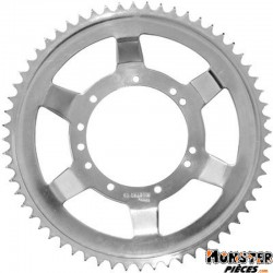 COURONNE CYCLO ADAPTABLE MBK 51 ROUE RAYONS 60 DTS (ALESAGE 94mm) 11 TROUS  -SELECTION P2R-