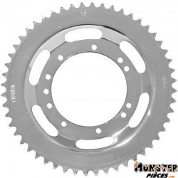 COURONNE CYCLO ADAPTABLE MBK 51 ROUE RAYONS 52 DTS (ALESAGE 94mm) 11 TROUS  -SELECTION P2R-