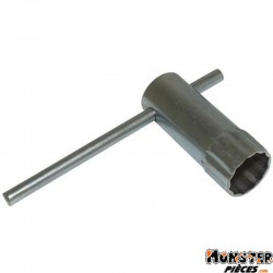 CLE A BOUGIE P2R STANDARD DIAM 21 mm 12 PANS L 70 mm
