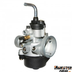 CARBURATEUR SCOOT P2R 12 TYPE PHVA POUR MBK 50 BOOSTER 2004>, NITRO 2004>-PEUGEOT 50 SPEEDFIGHT-YAMAHA 50 BWS 2004>, AEROX 2004>