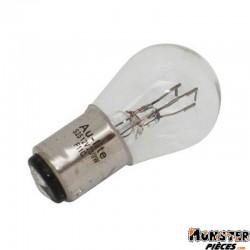 AMPOULE-LAMPE 12V 23-8W NORME P23-8W CULOT BAY15D STANDARD BLANC (FEU ARRIERE+STOP) (BOITE DE 10)  -SELECTION P2R-