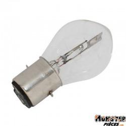 AMPOULE-LAMPE 12V 25-25W NORME B35 CULOT BA20D STANDARD BLANC (PROJECTEUR) (BOITE DE 10)  -SELECTION P2R-