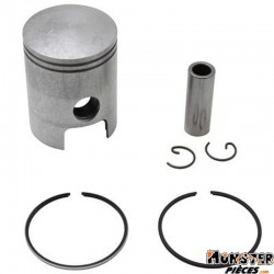 PISTON 50 A BOITE DR POUR MINARELLI 50 AM6-MBK 50 X-POWER, X-LIMIT-YAMAHA 50 TZR, DTR-PEUGEOT 50 XPS-RIEJU 50 RS1-BETA 50 RR-APR